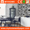 Papel de empapelar de papel puro decorativo para las paredes