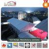 De witte die Tent van pvc van de Kleur voor de OpenluchtGebeurtenis van de Sport wordt gebruikt