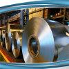 Bobina de placa de aço galvanizada Z200 do metal de Dx51d