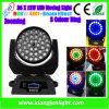 36X10W1 LED RGBW 4 en déplaçant le phare