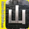 屋外広告のステンレス鋼の文字の印