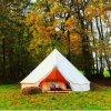 Im Freien Familien-kampierende Rundzelte des Luxus-5m 6m mit Ofen-Loch