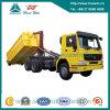 Camion di immondizia dell'elevatore dell'amo di Sinotruk HOWO 371HP 6X4