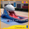 Corrediça de água padrão inflável do tubarão (AQ807)