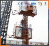 Het Hijstoestel 2tons van de Lift van de Bouw van China per de Prijs van de Kooi