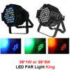 La luz a la par de LED para iluminación de escenarios
