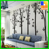 Etiqueta engomada ULTRAVIOLETA de la pared de la decoración de la impresión de la flor elegante