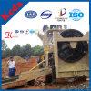中国の移動式金の洗浄プラント採鉱機械