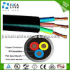 Cable électrique submersible rond flexible de pompe de 3 noyaux