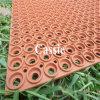 Двери резиновые коврики, Anti-Fatigue резиновый коврик, переплетения травы коврик масла сопротивление резиновый коврик