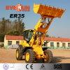 Qingdao Everun Er35 Wheel Type Construction Loader с Pallet Bucket