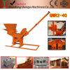 Máquinas Qmr Hot-Selling elevados lucros2-40 Interlcoking máquina de fazer tijolos de cimento