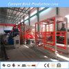 Máquina de fatura de tijolo Queimar-Livre da maquinaria do projeto do tijolo do automóvel