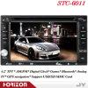 Dubbele GPS van de Speler van de Auto DVD van DIN Bluetooth TV USB BR (stc-6011)