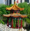 Verschillende Types in Chinese Stijl Aziatische Gazebos van de Tuin van het Ontwerp de Houten