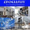 Focusun 새로운 조각 제빙기 민물 조각 얼음 만들기 플랜트