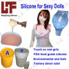 Sexy Toy Casting Making FDA RoHS를 위한 생활 Casting Silicone Rubber