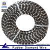 Herramientas de diamante Diamante de corte de alambre para el bloque de granito