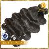 毛ボディ波の100%年のVirignペルーのRemyの人間の毛髪(PB-1)
