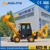 Китай низкая цена на заводе малых передней части погрузчика с обратной лопатой для продажи