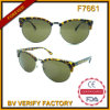 F7661 Promotion Sunglasses mit Round Lens PC&Metal Sunglasses