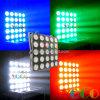 25 Глаза 25*10W RGBW светодиод 4 в 1 этапа лампа Matrix мойка
