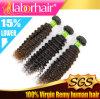 Самые лучшие выдвижения человеческих волос Remy девственницы скручиваемости 100% качества 7A Kinky бразильские