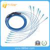 Sc-Sc Blindé Cordon à fibre optique monomode, G657A2, 6 Cores