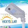 Luz de rua solar Integrated 8W do diodo emissor de luz do projeto proprietário