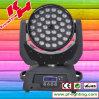 RGBW LED 이동하는 맨 위 세척 빛 급상승