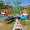 Земснаряд установленного ветрила Qingzhou гидровлический для драгировать реки