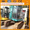 Maquinaria de construção usada da máquina escavadora de Kobelco Sk140LC-8