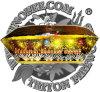Klassische Schuss-Ventilator-Form-Kuchen-Feuerwerke der Brokat-Kronen-130