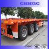 반 중국 3 차축 판매를 위한 평상형 트레일러 콘테이너 트레일러