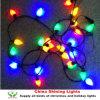 祝祭党装飾LEDストリングはC7をつける