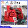 Máquina de rolamento hidráulica universal W12S-20X4000 da placa do CNC