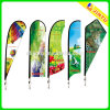 Sale를 위한 2015 관례 Outdoor Promotion Feather Printing Flag 또는 Beach Flag 또는 깃대