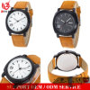 Yxl-688元のCurrenのブランドの人の腕時計の本革Currenは軍人の腕時計を見る