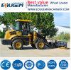 Mini /Small cargador de la granja del cargador de la rueda de Eoguem Zl12 1.2ton en China