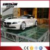 판매를 위한 알루미늄 단계 공간 아크릴 단계 LED 플래트홈 유리제 단계