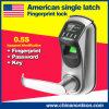 Slot van de Deur van de Vingerafdruk Keyless van de Klink van Europa het Amerikaanse Standaard Enige Slimme met USB