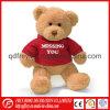 Le moins cher de la Chine Tshirt des jouets en peluche ours en peluche avec la CE