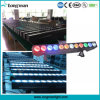 Bar 12*25W Rgbaw DMX Arruela Parede DJ Stage up Light