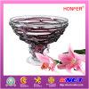 Piatto di arte di vetro di modello (HF5084)