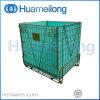 Zusammenklappbarer Speichermetalldraht-Ineinander greifen-Behälter