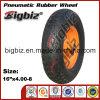 16 rotella pneumatica di gomma di pollice 4.00-8