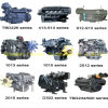 De Lucht van Mwm Tbd van Deutz koelde en het Water koelde Dieselmotor Deutz voor Marine, Bouw, Reeks van de Generator, de Landbouw