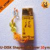 사업 선물 황색 세라믹 USB 플래시 메모리 (YT-9104)