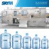 3-5 lavaggio delle bottiglie di gallone, materiale da otturazione, macchina di coperchiamento con CE (600BPH)