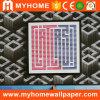 Pared 3D de materiales de construcción de PVC Papel 2016 con alto grado
